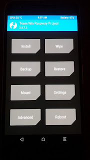 TWRP RECOVERY / NANDROID BACKUP