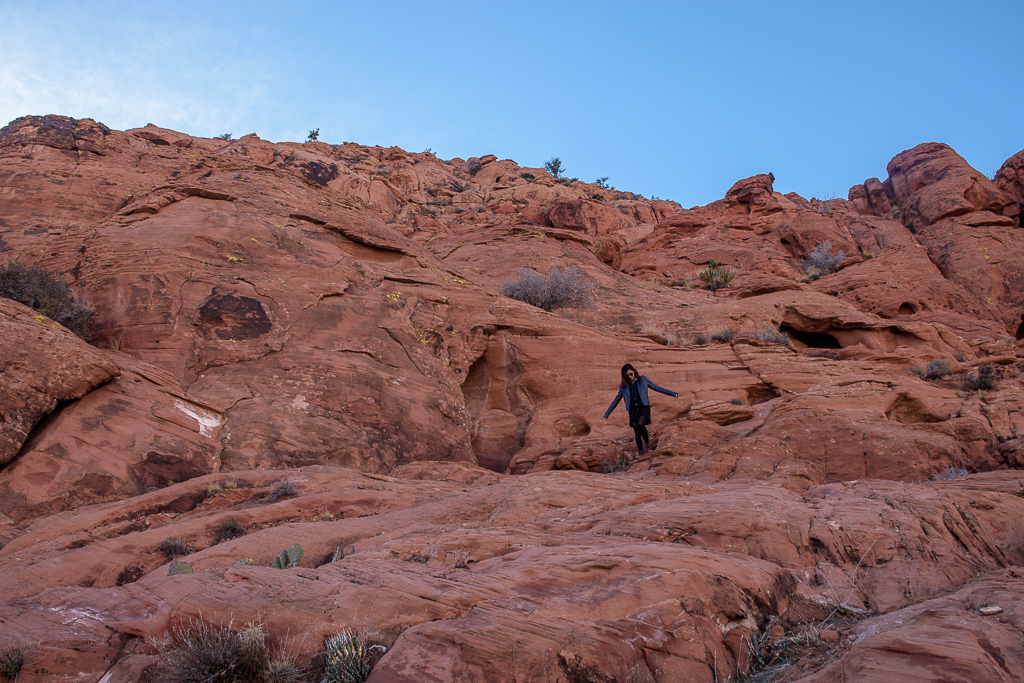 red rock canyon, visiting nature sights in nevada