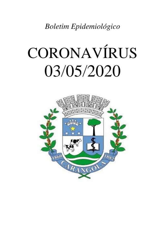 2º Caso de Coronavírus é confirmado na cidade de Carangola