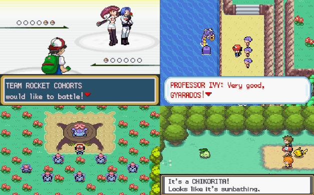 Pokemon Ash Gray GBA ROM Download