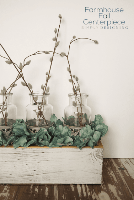 Farmhouse Fall Centerpiece Easy DIY