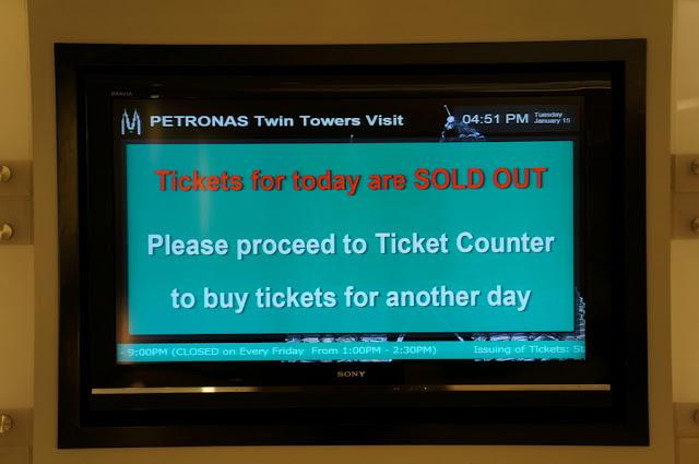 Observatório das Petronas Twin Towers