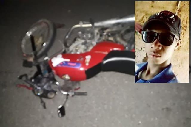 Jovem morre, após cair de moto e ser atropelado por carro em Palmas de Monte Alto