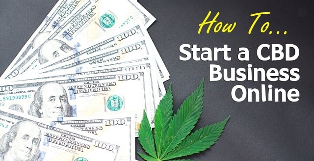 how to start an online cbd oil business cannabidiol startup