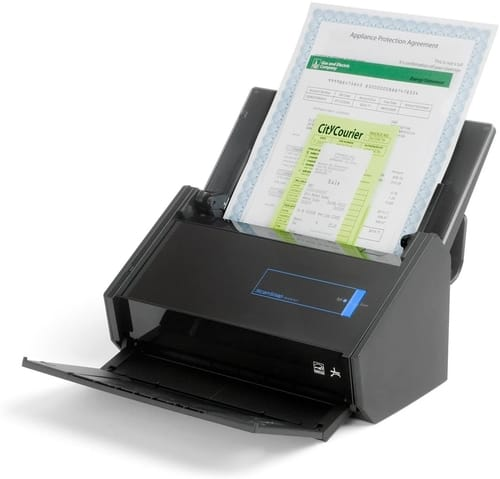 Review Fujitsu ScanSnap iX500 Deluxe Bundle Scanner