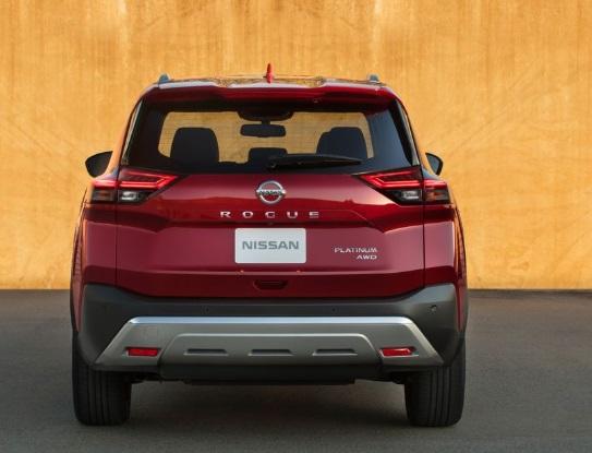 Tampilan Belakang Nissan Rouge 2021