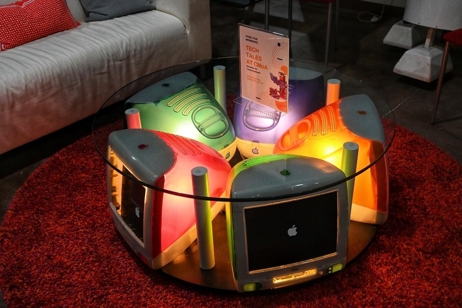 Colorful iMac Computers