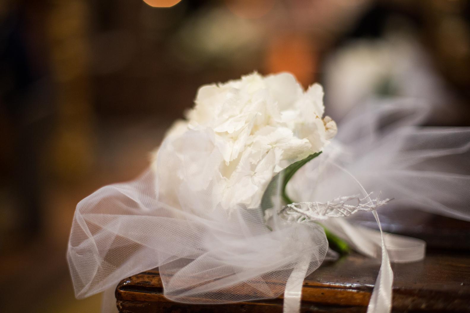 matrimonio con ortensie
