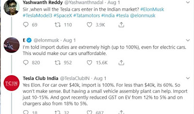 Why is Tesla not coming to India?
