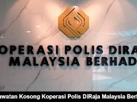 Jawatan Kosong Koperasi Polis DiRaja Malaysia Berhad