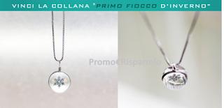 Logo Vinci gratis le collane Fiocco D'Inverno con Gadget4Entertainment