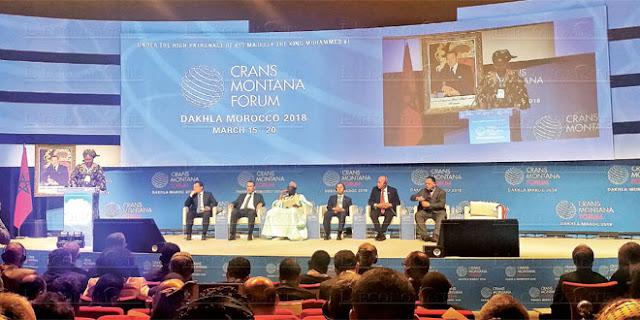 Sous le Haut Patronage de S.M. le Roi Mohammed VI, Le Forum Crans Montana, revient pour sa cinquième édition à la ville de Dakhla.