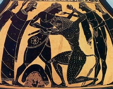 Ο Θησέας σκοτώνει τον Μινώταυρο - Ενότητα 3 - ο Θησέας