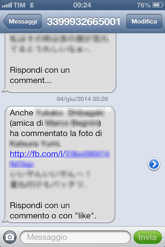 A week in the web: Notifiche Facebook via sms: come disattivarle?
