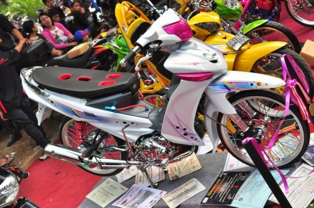Foto Modif Yamaha Vega Tahun 2012
