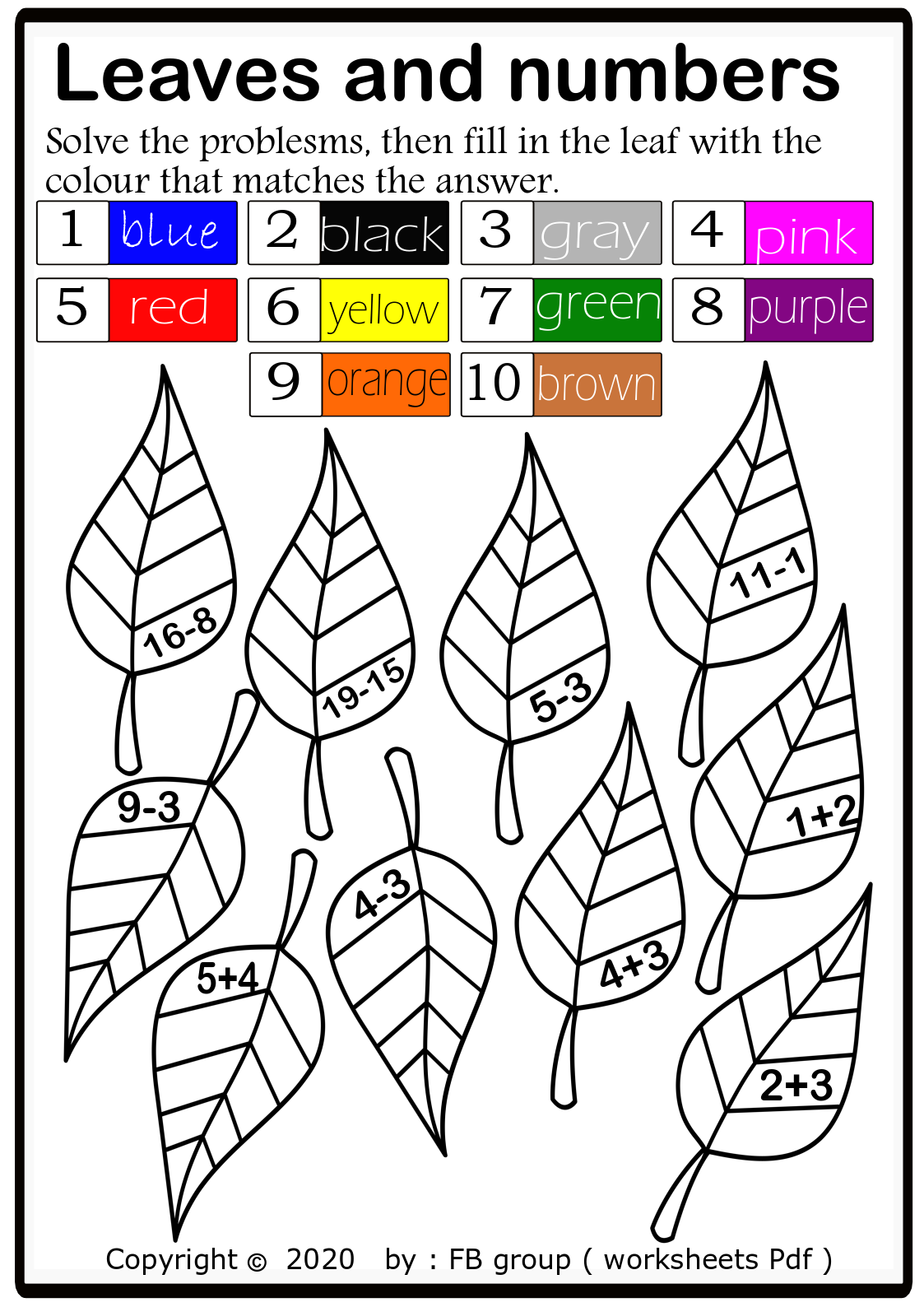 Download Addition And Subtraction Worksheet Free File