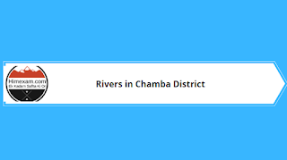 Rivers in Chamba District