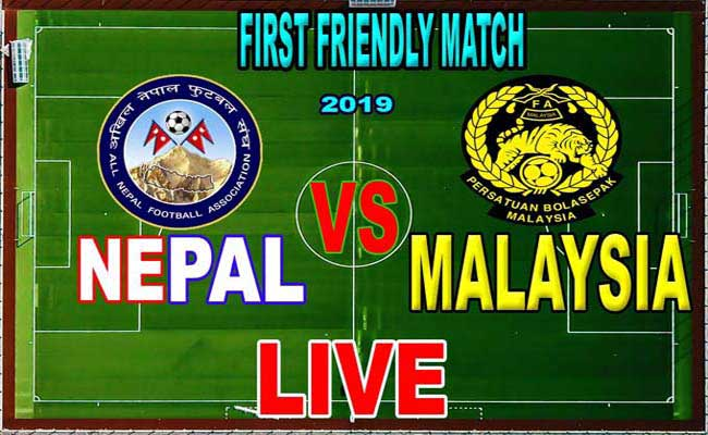 International Friendly Match Nepal vs Malaysia football Match 2019