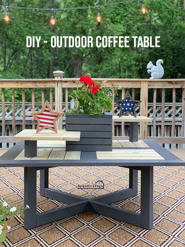 backyard coffee table