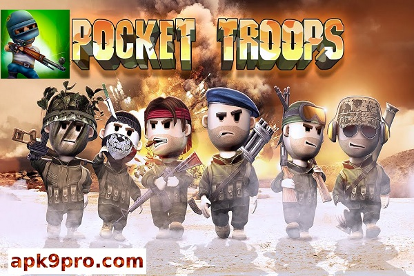 Pocket Troops 1.38.0 Apk + Data (File size for 175 MB) Android