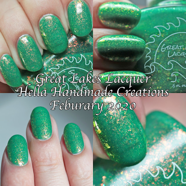 Great Lakes Lacquer Hella Handmade Creations February 2020