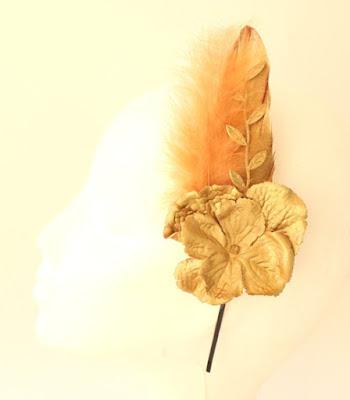 PV 2017 - Coleccion Oro 06 Diadema Tocado flor