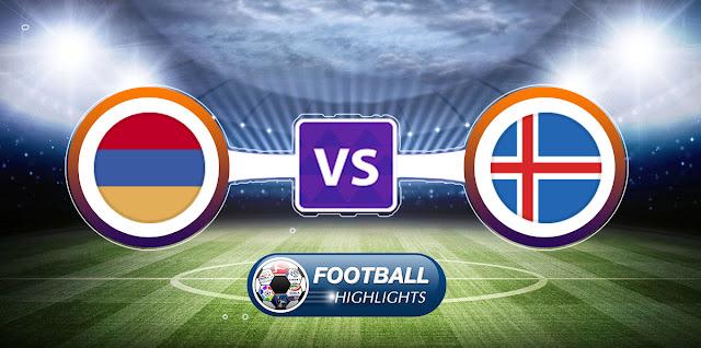 Armenia vs Iceland – Highlights