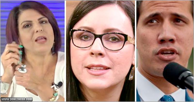 Carla Angola y Patricia Poleo se pelean por Juan Guaidó en las redes