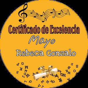 certificado de excelencia mayo 2020