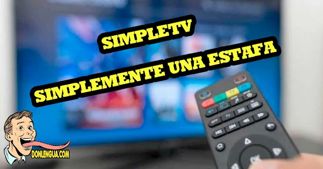 SimpleTV es una simplemente una estafa | costosa e inútil