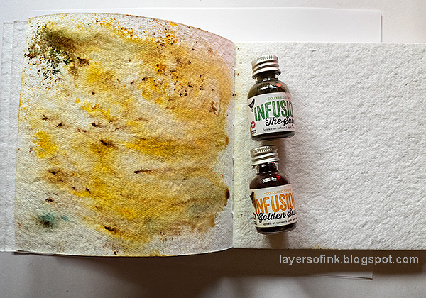 Layers of ink - Yellow Roses Tutorial by Anna-Karin Evaldsson. With Paper Artsy Infusions.