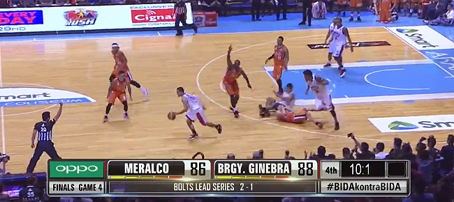 HIGHLIGHTS: Ginebra vs. Meralco (VIDEO) October 14 - Finals Game 4