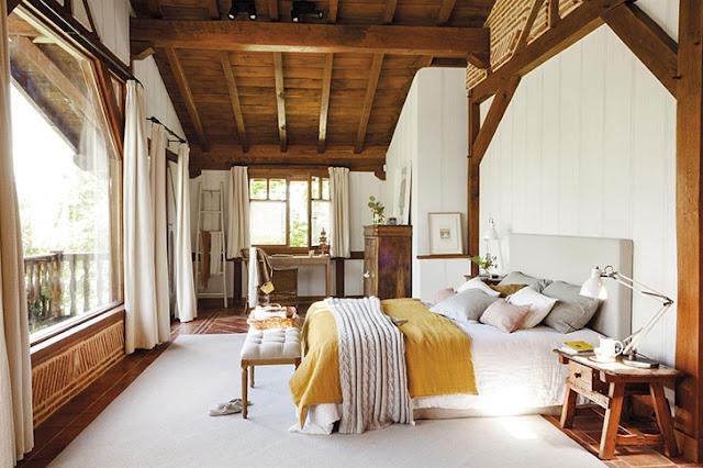 Rustic contemporan într-o frumoasă casă din Spania