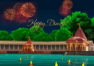 diyas-fireworks-diwali-wallpaper