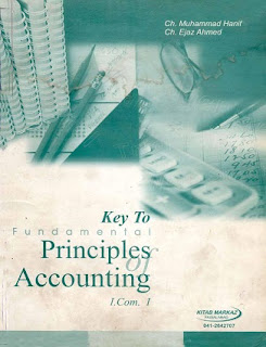 11th Class (Inter Part-1) ICOM Helping Book of Accounting - Taleem360.com