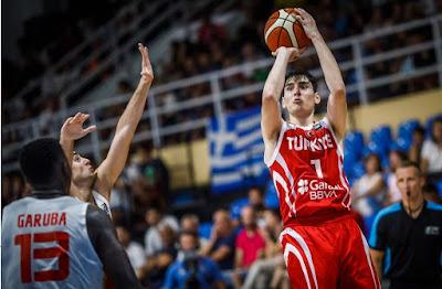 FIBA U18 Europe - Ömercan İlyasoğlu - Türkiye