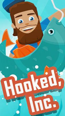 تحميل لعبة الصيد الممتعة Hooked Inc: Fisher Tycoon النسخة المهكرة