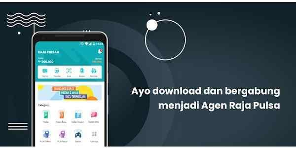 Aplikasi Berjualan Pulsa RJ Raja Mobile Topup Reload Pulsa