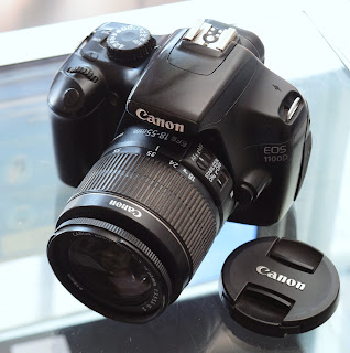 Jual Kamera Canon 1100D Lensa Kit IS2 Malang
