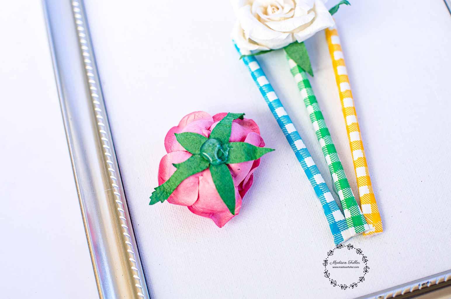 DIY Framed Bouquet Step5