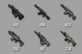 PUBG Mobile Assault Rifles Weapons List in 2020