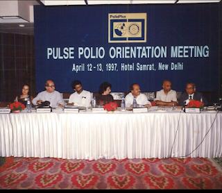 Pulse Polio Meeting
