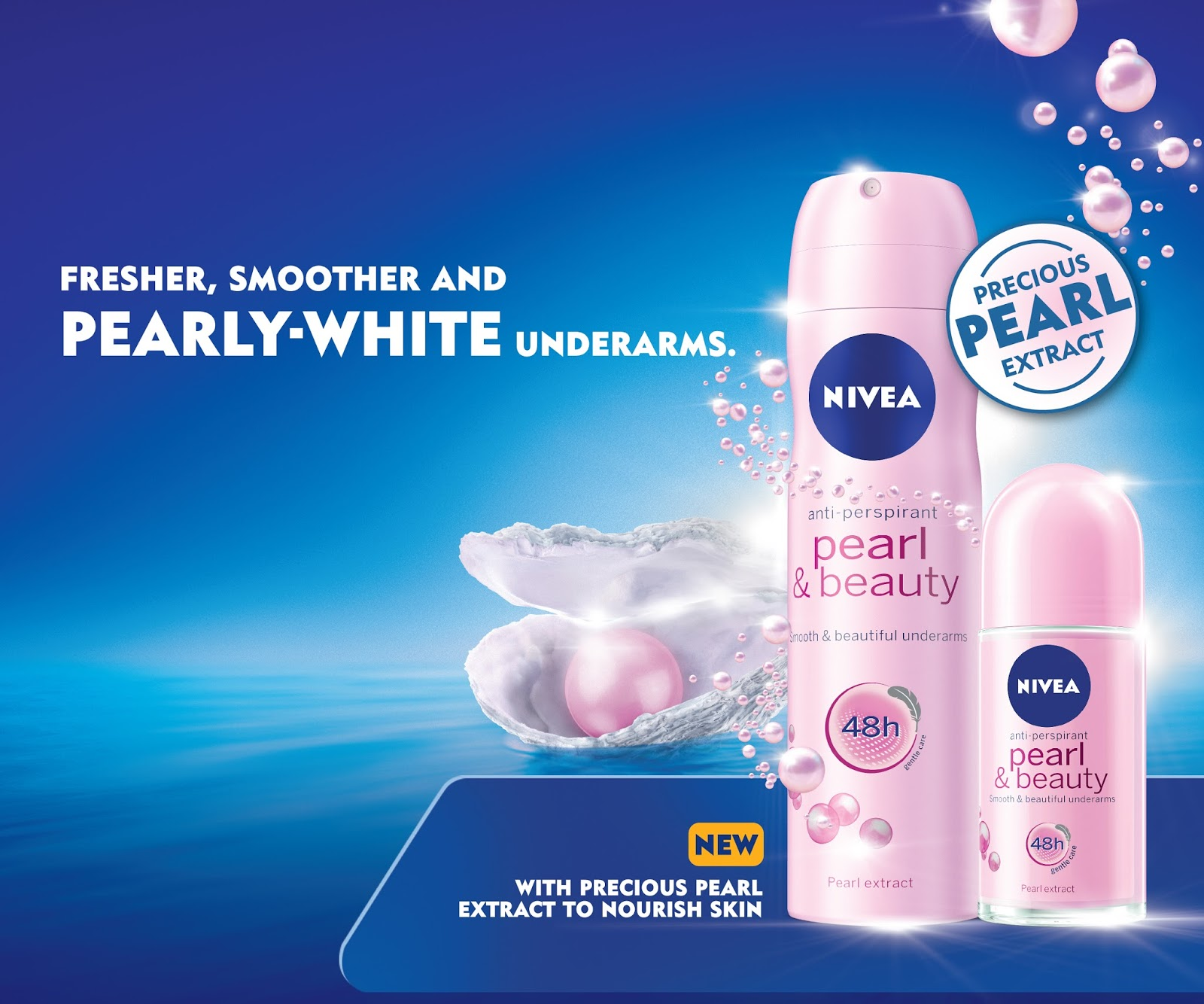 Image result for Nivea Pearl & Beauty Roll On