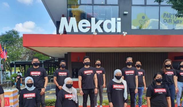 Ini Senarai 16 Premis McDonalds Yang Akan Menerima Signage 'Mekdi'. Nampak Lebih Malaysia Gitu!