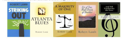 Robert Lamb's website book page
