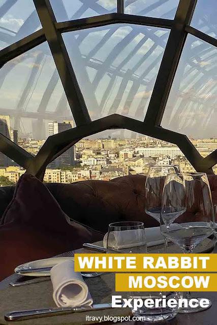 White Rabit, Moscow (Restaurant experience)
