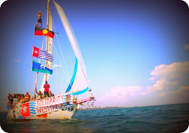 'Freedom flotilla' Will sail to Merauke