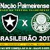 Jogo Botafogo x Palmeiras Ao Vivo 02/08/2017
