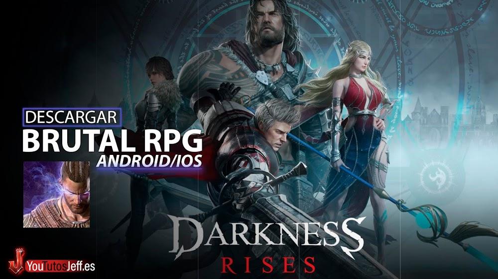 Brutal RPG para Android/iOS😏🔥Descargar Darkness Rises GRATIS!
