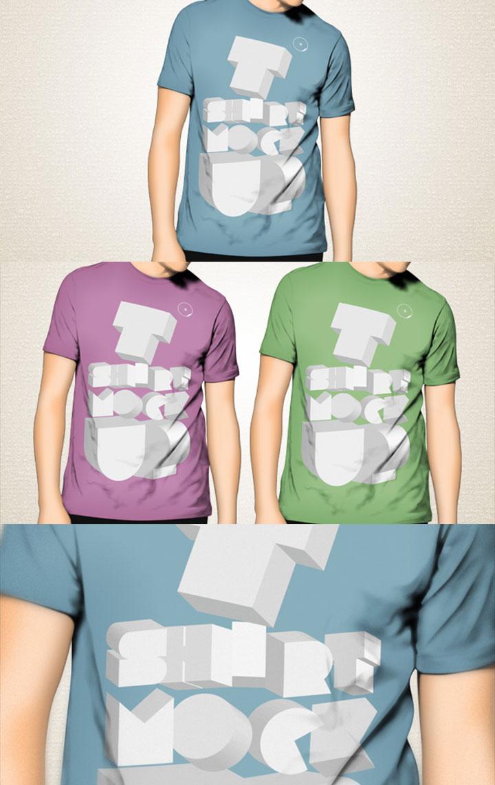 T-shirt Template Design